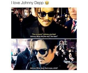 funny, johnny depp, and bae image
