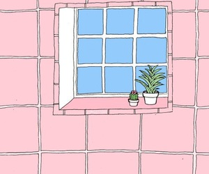 pink, aesthetic, and plants image