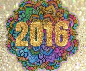 2016, glitter, and shine image