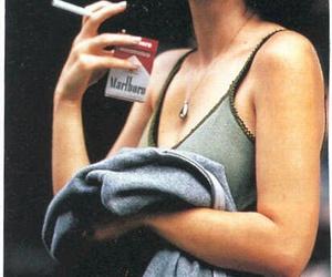 winona ryder, marlboro, and cigarette image