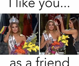 lol, miss colombia, and friends image