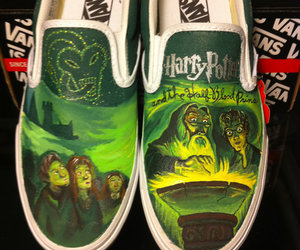 harry potter, vans, and shoes image