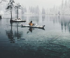 adventure, snow, and winter image