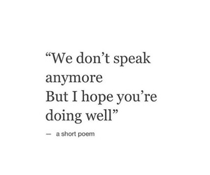 quotes, sad, and speak image