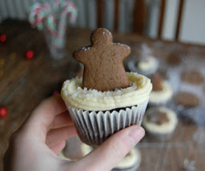 baking, cupcakes, and gingerbread image