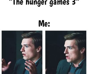 mockingjay, hunger games, and funny image