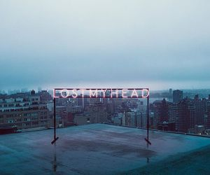 the 1975, grunge, and neon image