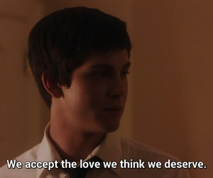 perks of being a wallflower, think, and wallflower image