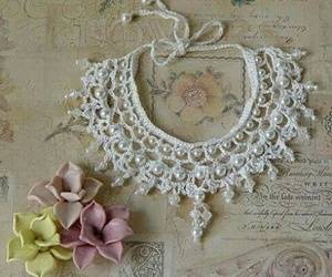 accessories, crochet, and fashion image