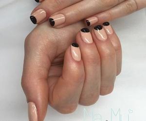 nails, ma&mi, and gelish image