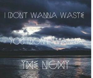 5sos, sounds good feels good, and waste the night image