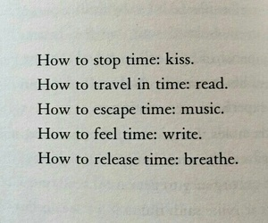 time, quotes, and breathe image