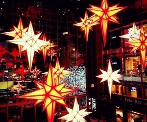 star, merrychristmas, and newyear image