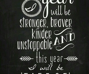 quotes, fierce, and new year image