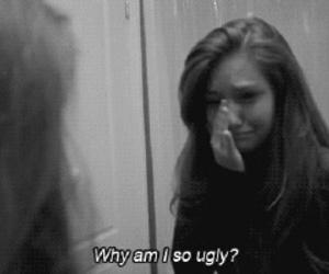 sad, ugly, and depressed image