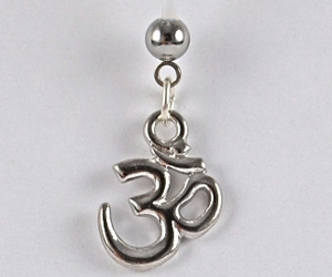 belly button, om, and ring image