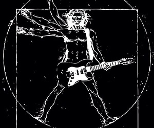 rock, guitar, and music image