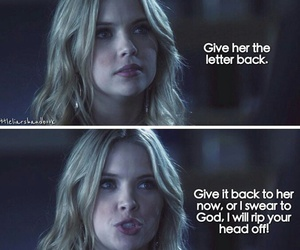 girl, hanna, and quote image