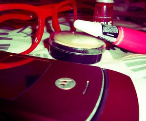 color, red, and glasses image