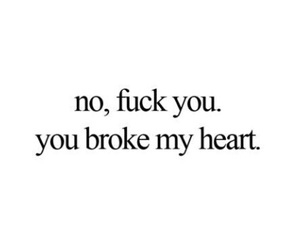 black and white, broken heart, and quote image