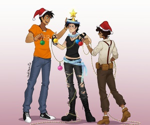 percy jackson, hoo, and thalia grace image