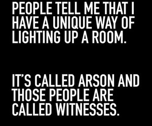 arson and funny image