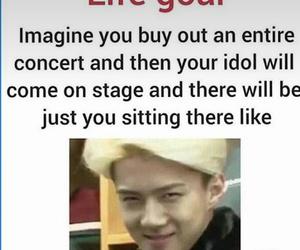 exo, funny, and sehun image
