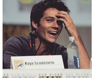 dylan o'brien, smile, and teen wolf image