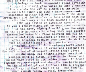 Letter, typewritten, and words image