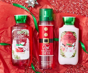 christmas, bath and body works, and holiday collection image