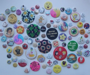 buttons and pins image