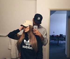 couple and adidas image
