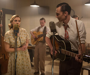 hank williams, i saw the light, and tom hiddleston image