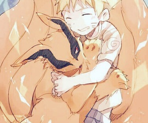 anime, nine tails, and naruto image