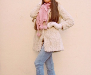 blogger, fur coat, and hair image
