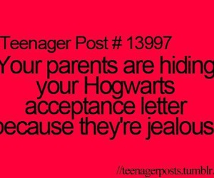 hogwarts, harry potter, and teenager post image