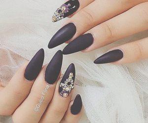 nails and cute nails image