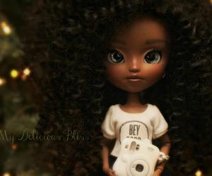 art doll, custom blythe, and dolls image