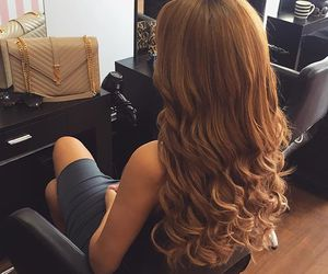 curls, girl, and luxury image