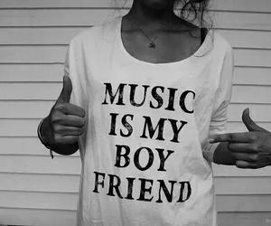 music and boyfriend image