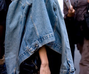fashion, jeans, and grunge image