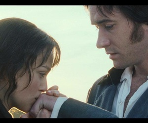 pride and prejudice, love, and keira knightley image