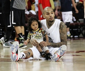 Basketball and chris brown image