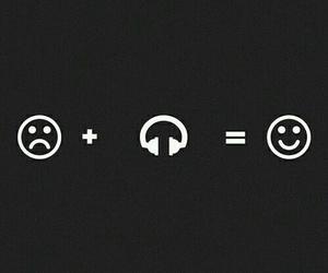 music, happy, and sad image
