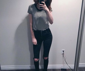 style, grunge, and outfit image