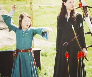 narnia, Lucy, and susan image