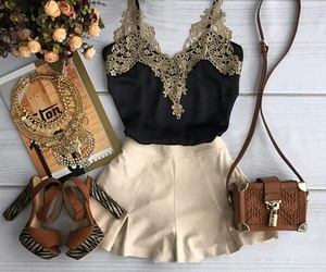 beautiful, outfit, and beauty image