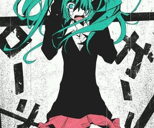 vocaloid, hatsune miku, and rolling girl image