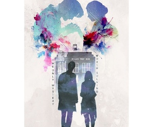 doctor who, tardis, and edit image