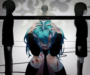 rolling girl and vocaloid image